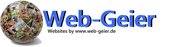 Web-Geier die private Info-Homepage im Internet